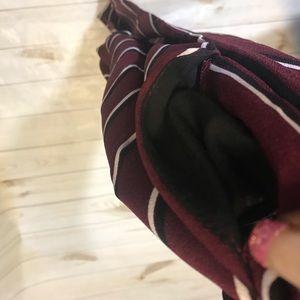 Rue21 Pants - NEW! Rue21 Striped Paper Bag High Waist Pants-L